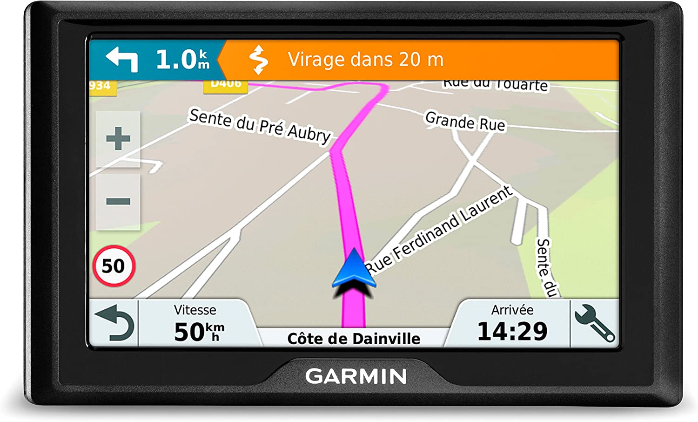 mit 4,3 Touchdisplay plus kostenlosem Download von Karten f/ür Europa Deutschland//S/üdeuropa mit lebenslangen Kartenupdates f Garmin Drive 40 SE Plus Navigationsger/ät
