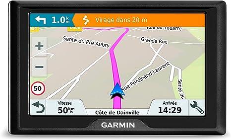 Garmin Drive 50 CE LMT - Navegador GPS con mapas de por Vida y tráfico en Directo (Pantalla de 5