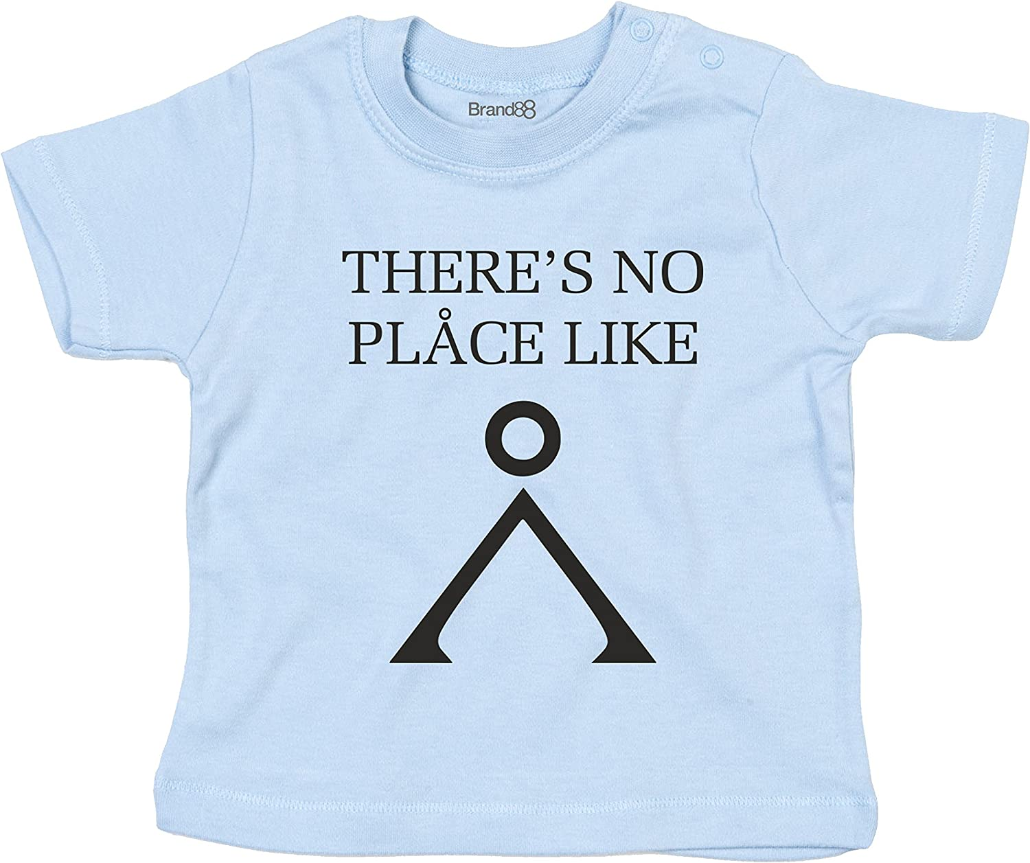 Baby T-Shirt Brand88 Theres No Place Like