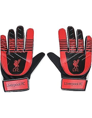 20bcadcdb Liverpool FC Official Football Gift Kids Youths Goalkeeper Goalie Gloves