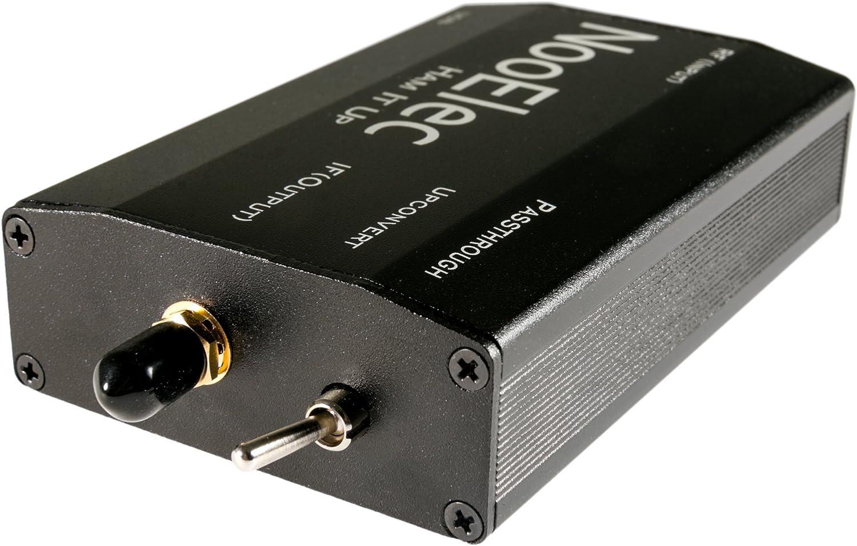 for Ham It Up Plus Barebones RF Upconverter for NESDR and RTL-SDR radios Black NooElec Extruded Aluminum Enclosure Kit