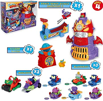 SuperZings Serie 4 – Pack Superzings Power Tower Assault, 6 ...