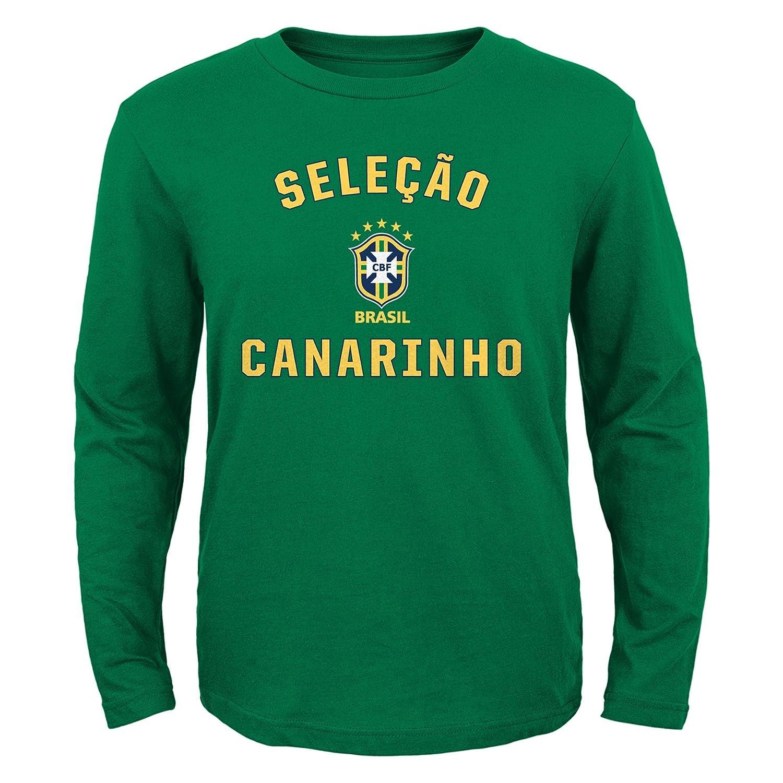 雑誌で紹介された ブラジルAdidas Youth Youth Canarinho Selecao Canarinho L/Sグリーンシャツ Selecao Medium B019GQZUAS, ジェムスクェアカネモリ:8bcf3694 --- a0267596.xsph.ru