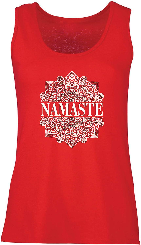 lepni.me Femme D/ébardeur sans Manche M/éditation Yoga Namaste Mandala Mandala Zen Cadeau Spirituel pour Yogi
