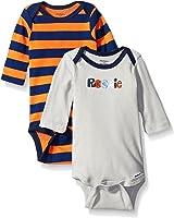 Gerber Baby-boys  2 Pack Long Sleeve Onesies Brand One Piece Underwear Sports