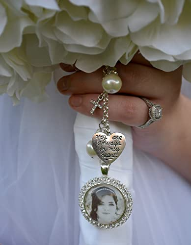 bridal bouquet charm wedding bouquet pendant bridal accessories