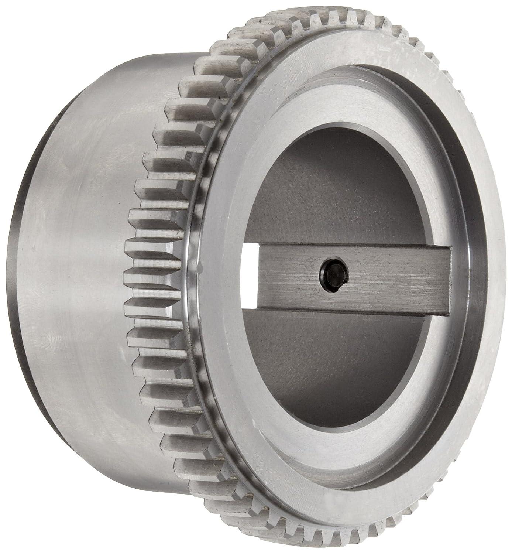 Flex Hub Lovejoy 00095 Size C 2.5 Sier-Bath Continuous Sleeve Gear Coupling 0.5 x 0.25 Keyway 30200 in-lbs Nominal Torque 5.50 Coupling OD Inch Carbon Steel 1.875 Bore 3750 Maximum Unbalanced RPM