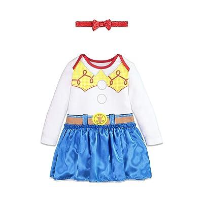 Disney Toy Story Jessie Toddler Girls Costume Onesie Dress & Headband: Clothing