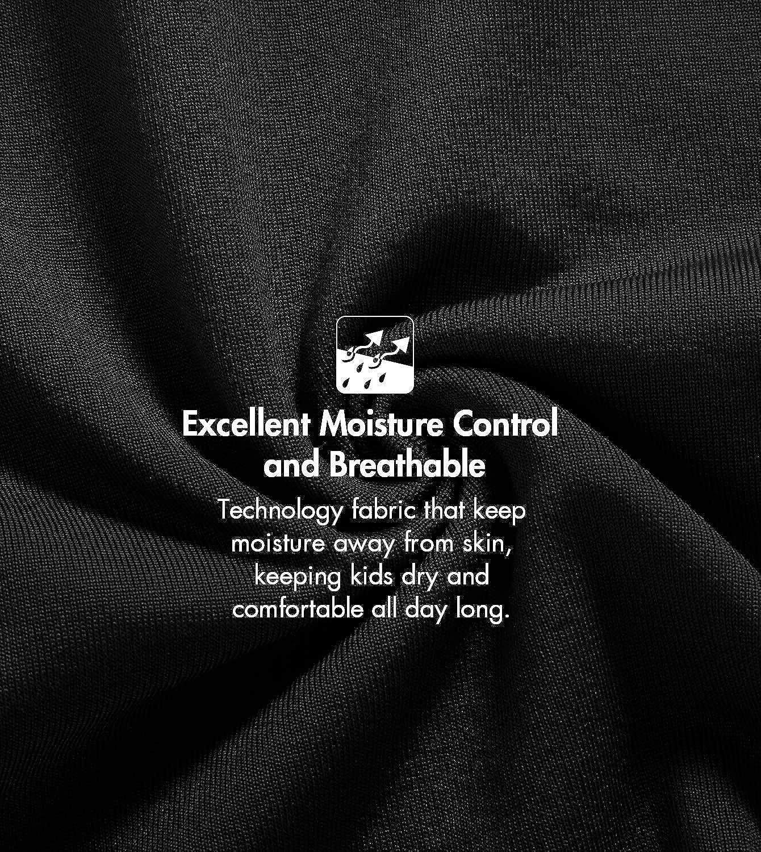 LAPASA Jungen Innenfleece /& Baumwolle Thermounterw/äsche Set Thermounterhemden Thermo-Unterhosen Ski Funktionsunterw/äsche f/ür Winter B03 /& B06 MEHRWEG