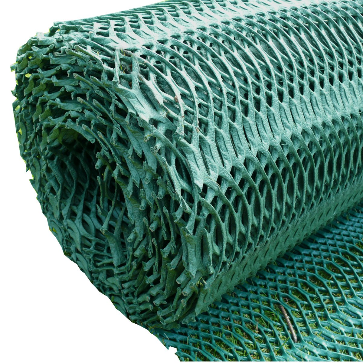 Suregreen Grass Reinforcement Mesh 1 x 10m Turf Protection Driveway Car Parking Bay Mat - 11mm Heavy Duty Lawn and Grass Protector