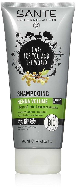 Sante Shampoo, Henna Volume, 6.8 Fluid Ounce