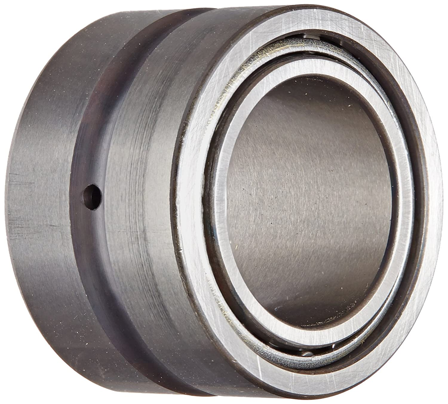 17mm Width 20mm ID Metric Open End INA NAO20X35X17 Needle Roller Bearing 18000rpm Maximum Rotational Speed With Inner Ring Steel Cage 35mm OD