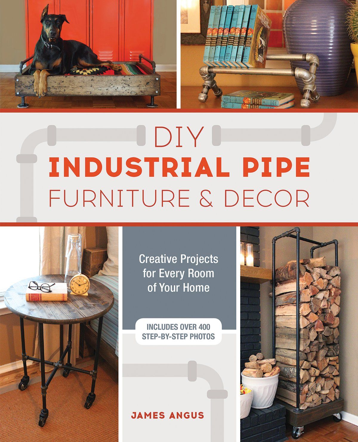 Industrial Pipe Furniture Inside Diy Industrial Pipe Furniture And Decor Creative Projects For Every Room Of Your Home James Angus 9781612436067 Amazoncom Books