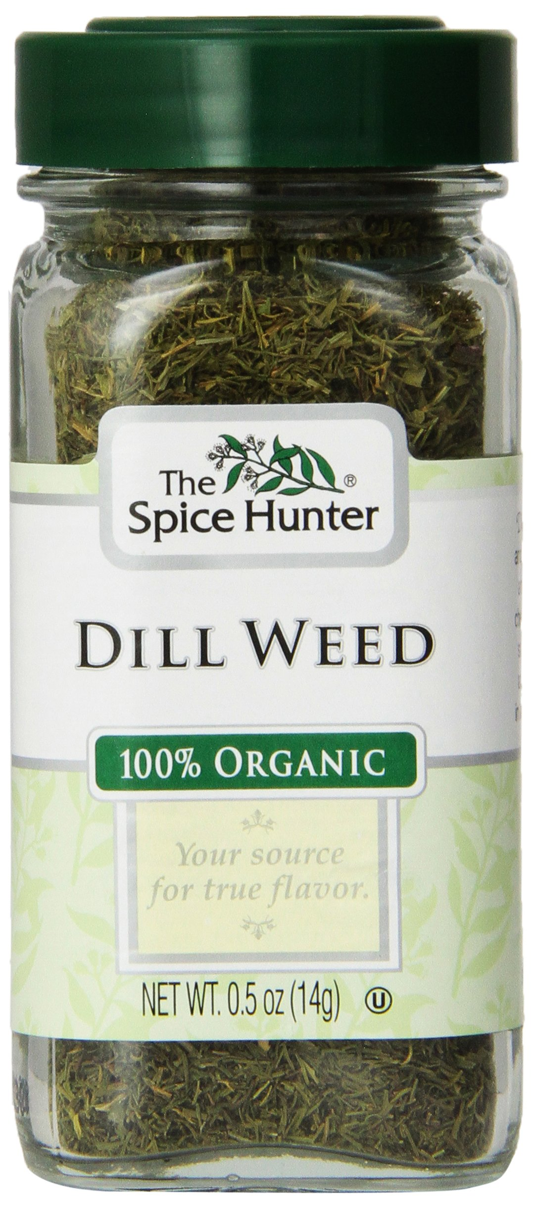 Spice Hunter Spices, Organic Dill Weed, 0.5 Ounce (Pack of 6)