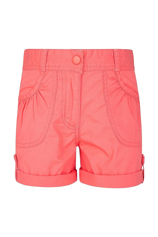Mountain Warehouse Shore Shorts für Mädchen - Kindershorts aus 100% Baumwolle, Lange Atmungsaktive Hose, Strand Shorts - Lässige Shorts für Den Sommer & Urlaube