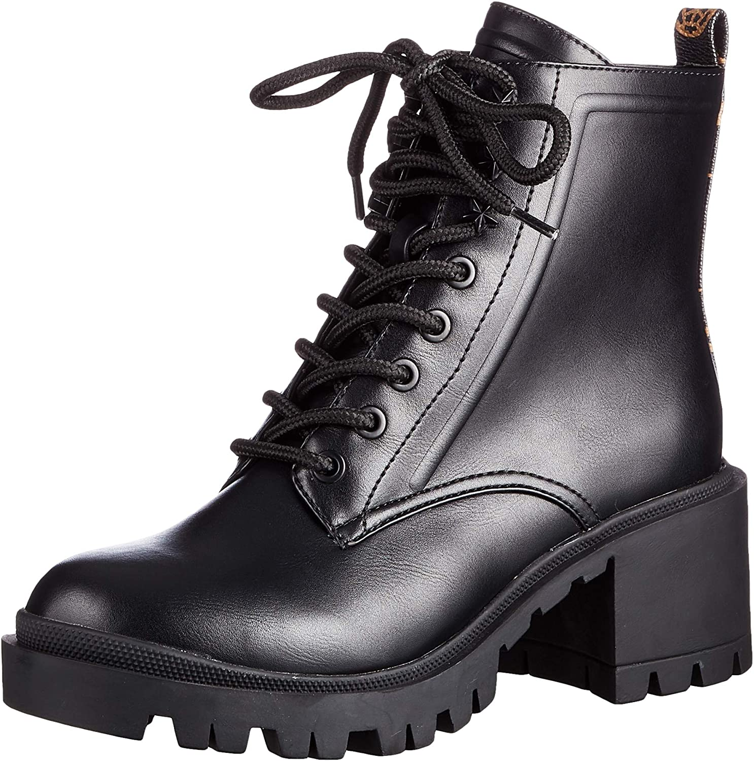 Guess Magaly/Stivaletto (Bootie)/Lea, Botas de Combate Mujer