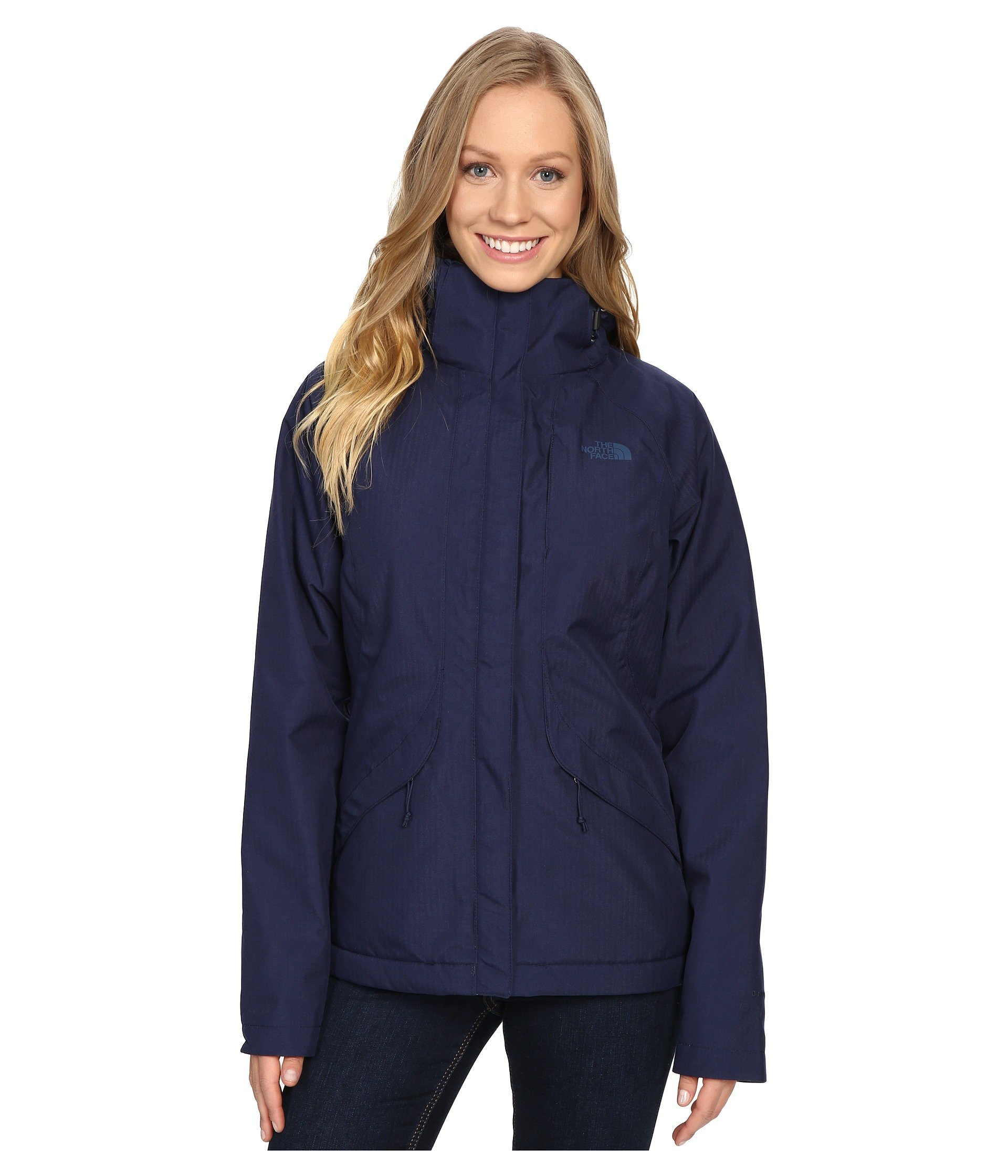 db96876fb602 Galleon - The North Face Women s Inlux Insulated Jacket Cosmic Blue (Prior  Season) X-Small