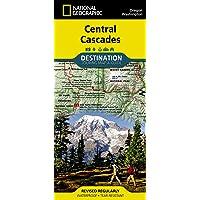 Central Cascades Destination Guide Map