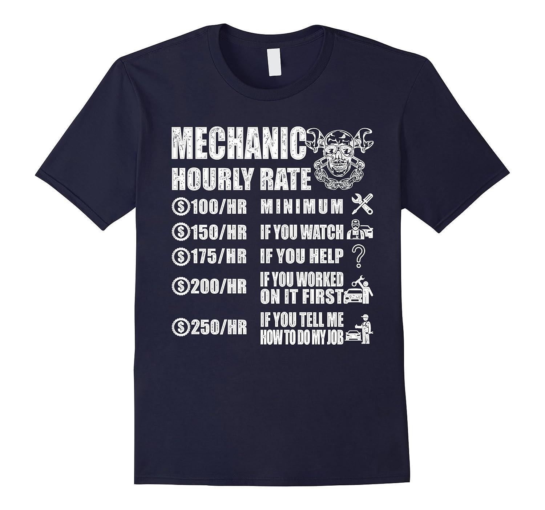 Mechanic Shirt - Mechanic Hourly Rate ...