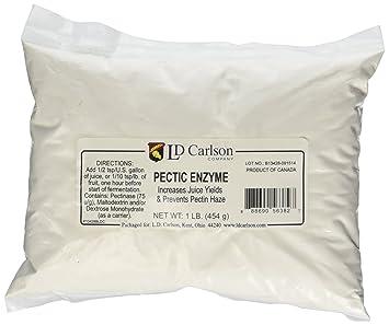 Amazon.com: Bolsa de enzima péctica (en polvo). 1 ...