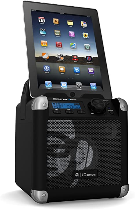 BriteLite iDance 50w PA System Portable Bluetooth Speaker LCD Display *OPEN BOX*