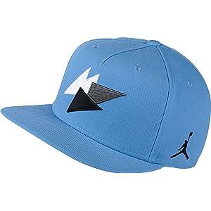 74b8f519f11a ... canada jordan 7 unisex snapback hat cap university blue white black  843075 412 ca4d4 227aa