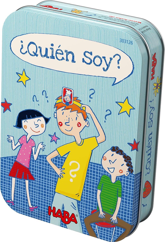 Haba-¿ Quién soy Juego de preguntas y respusestas, Multicolor (303126)