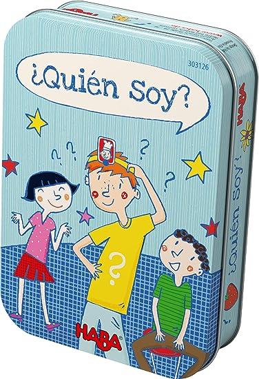 Haba-¿ Quién soy Juego de preguntas y respusestas, Multicolor (303126): Amazon.es: Juguetes y juegos