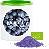 Arándano en Polvo - Liofilizado|biológico|vegano|crudo|pura fruta|no aditivo|rica en vitamina|Good Nutritions 120g