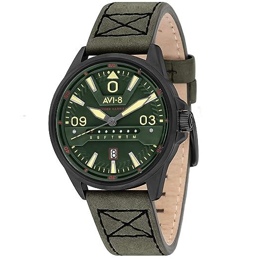 Reloj Hombre - Spinnaker - Hawker Harrier II - Cuarzo - Caja 42 mm - av-4063 - 04: Amazon.es: Relojes
