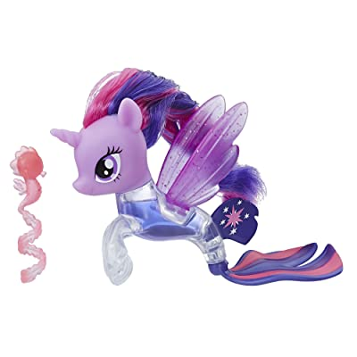 My Little Pony the Movie Twilight Sparkle Flip & Flow Seapony Figure: Toys & Games