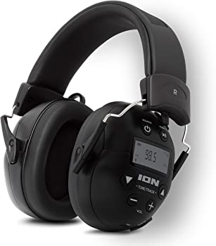 ION Audio Tough Sounds II Hearing Protection Bluetooth Headphones