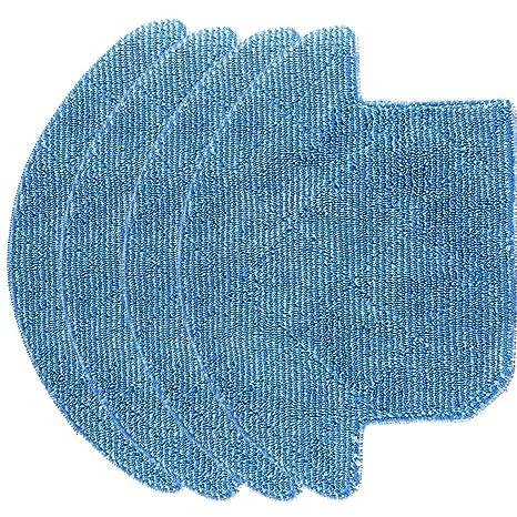 Ewendy - Juego de 4 paños de Limpieza Lavables para aspiradoras ...