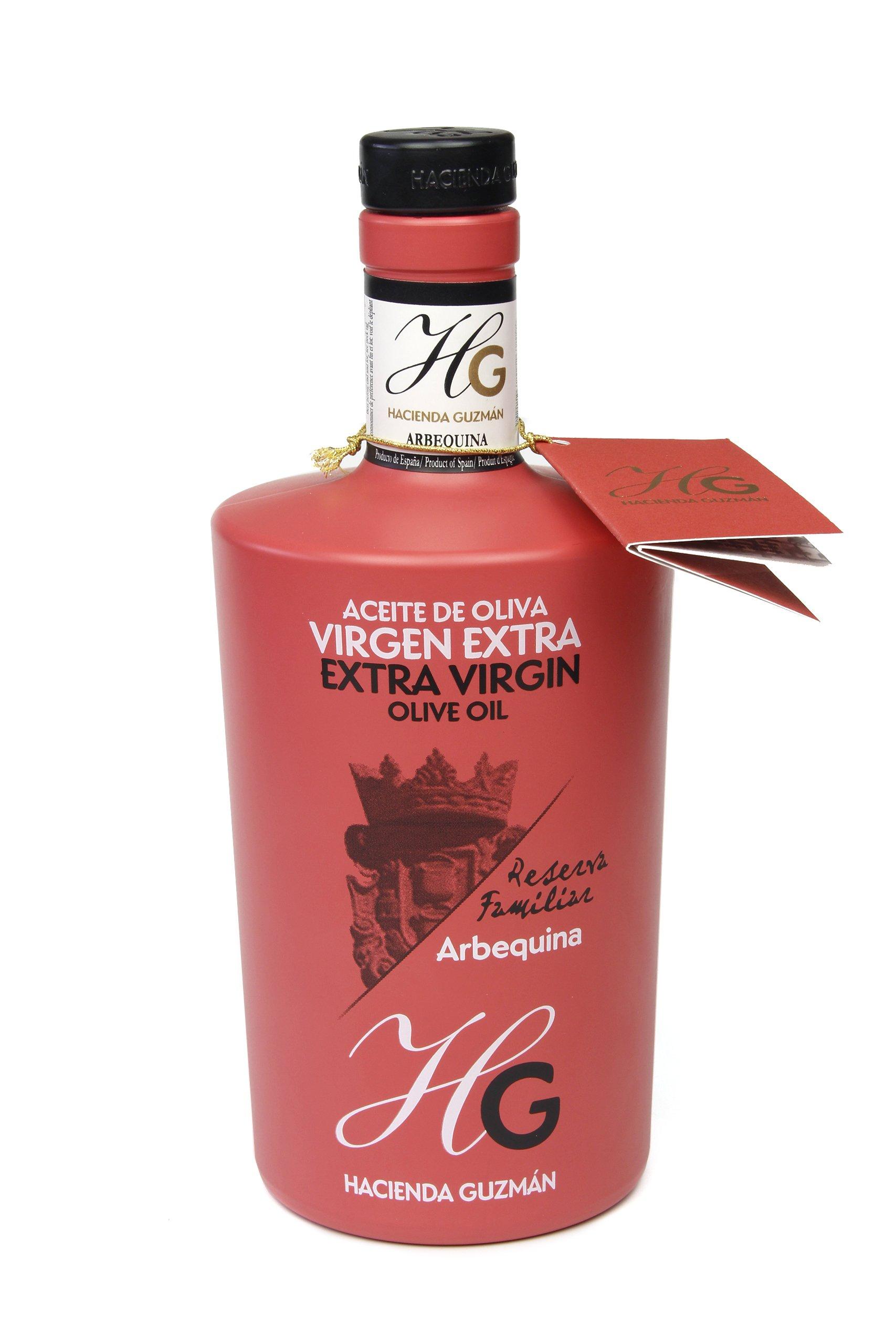 Extra Virgin Olive Oil, EVOO Arbequina - 17.5 oz by Hacienda Guzman (Image #1)