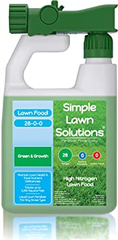 Simple Lawn Solutions Maximum Green & Growth Lawn Fertilizer