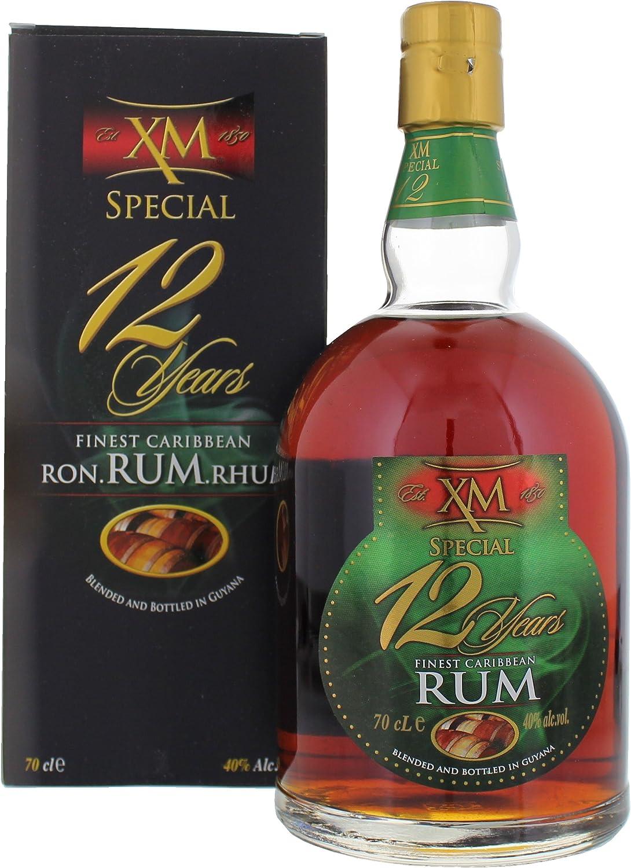 XM 12 años Special Rum (1 x 0,7 l)