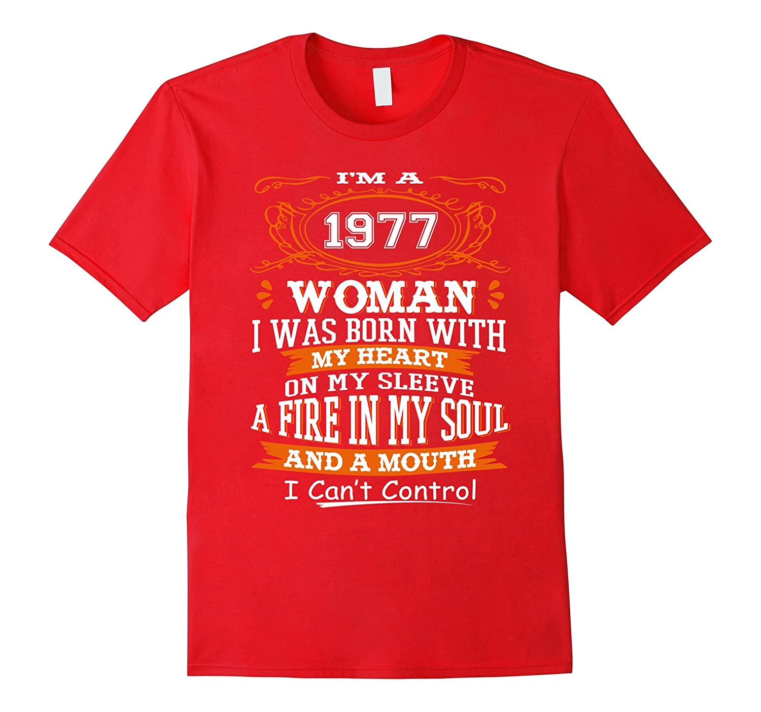 Vintage Shirt Im 1977 Woman 40 Years Old 40th Birthday Gift FL