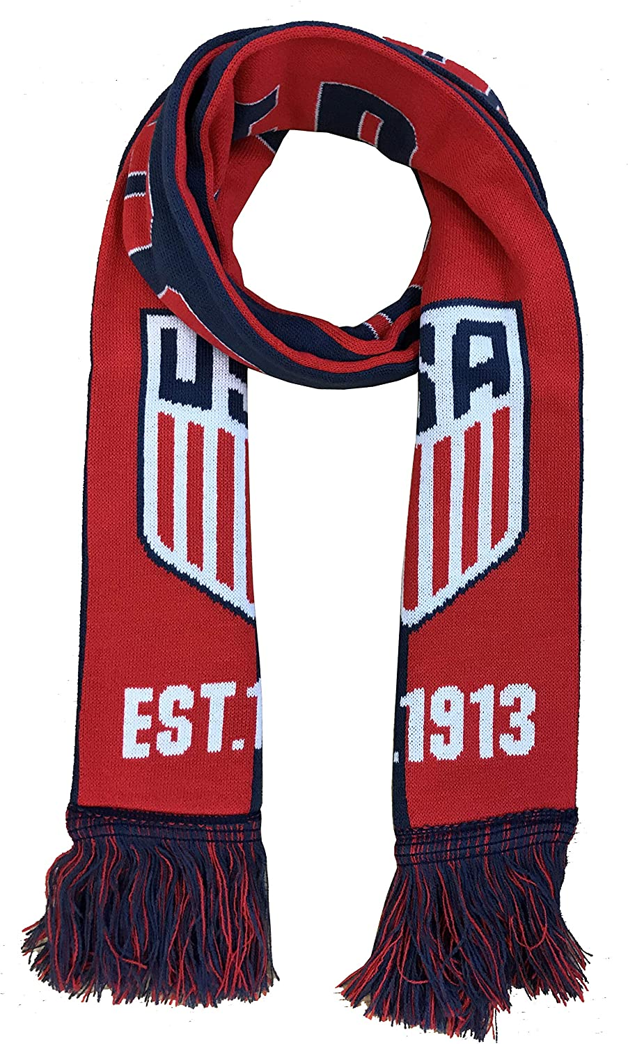 Official US Soccer Scarf Two Tone