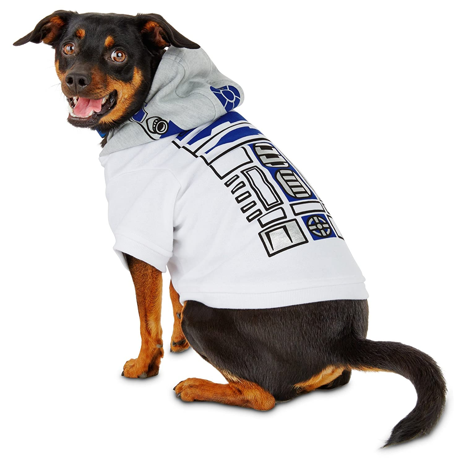 Medium STAR WARS R2-D2 Dog Hoodie, Medium