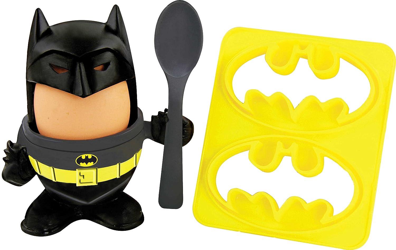 Amazon.com: DC Comics Batman Egg Cup and Toast Cutter by Paladone ...