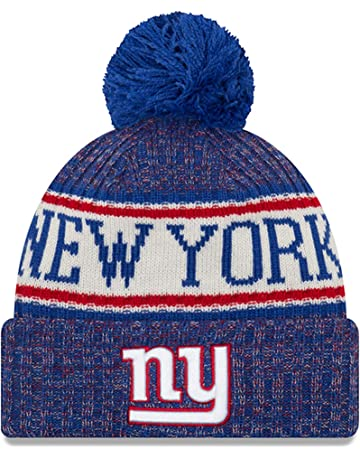 adf78b45 New Era Knit New York Giants Biggest Fan Redux Sport Knit Winter Stocking  Beanie Pom Hat