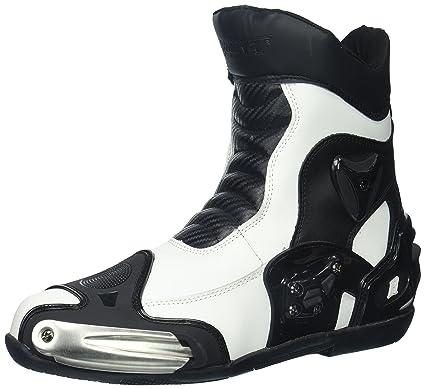 4e50a4331fe Joe Rocket Men's Superstreet Boots (White, Size 11)