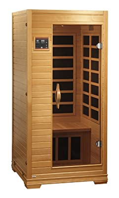 BetterLife BL6109 1-2 Person Carbon Infrared Sauna with ChromoTherapy Lighting