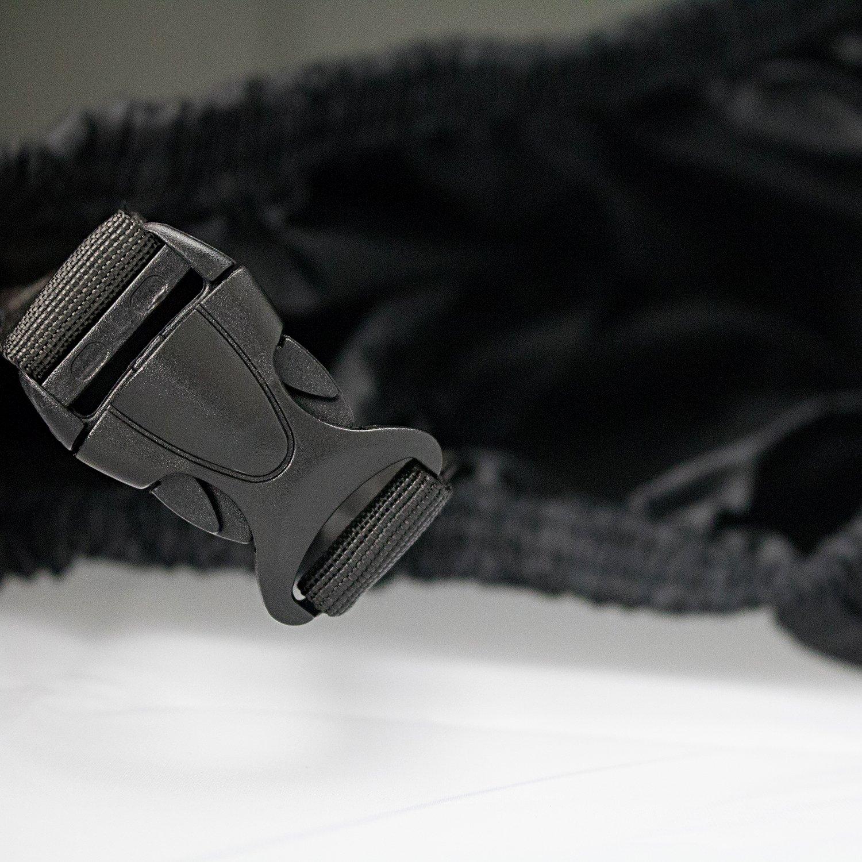 LIHAO Motorradgarage Winterfest 190T Motorcycle Waterproof UV Protective Motorbike Cover Outdoor Black
