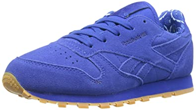 19741db753323 Reebok Kids  Classic Leather TDC Sneaker Collegiate Royal White 8 M US  Toddler