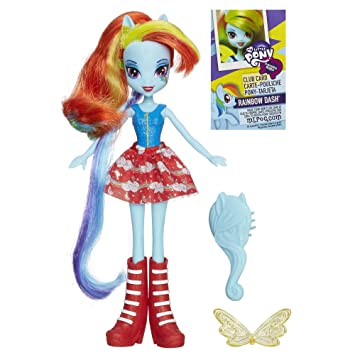 Amazon.es: My Little Pony Equestria Girls Rainbow Dash Doll ...