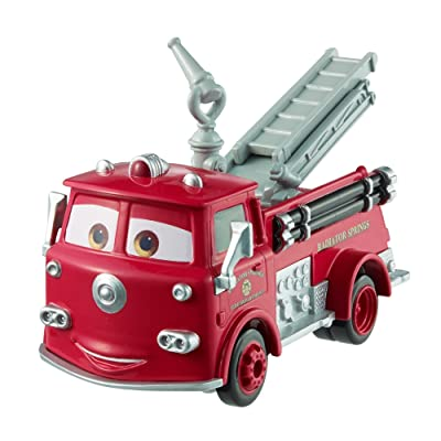 Disney Pixar Cars Wheel Action Drivers Red Vehicle: Toys & Games