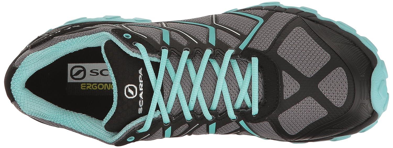 SCARPA Women's Scapra Proton GTX Wmn Running Shoe Trail Runner B0126IYF4A 40.5 EU/8 2/3 M US|Gray/Sky
