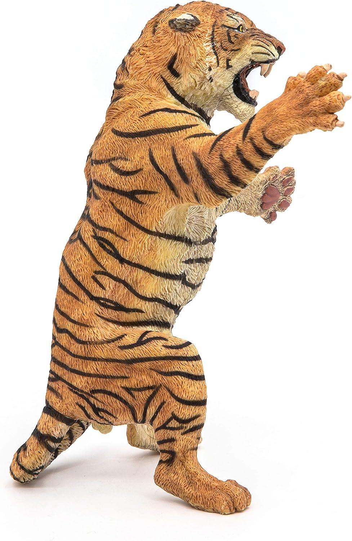 Papo 50208 Se Tenant Debout Tigre 10,5 CM Animaux Sauvages