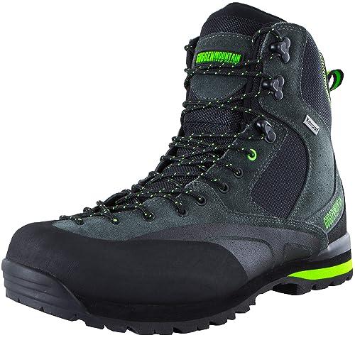 GUGGEN MOUNTAIN HPM55 Botas De Trekking Y Senderismo para Hombres Calzado De Exterior Impermeable con Membrana Y Gamuza: Amazon.es: Zapatos y complementos
